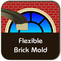 Choose Flexible Brick Molding for Curved Windows and Doors