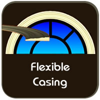 Choose Flexible Casing Molding for Curved Windows and Doors