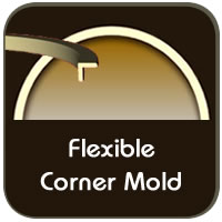 Choose Flexible Corner Molding for Arches and Curves